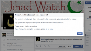 False security warning on a PNG file at FaceBook