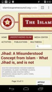 islamicsupremecouncil.org-mobile